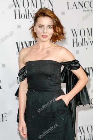 Ophelia Lovibond attends the Vanity Fair and Lancome Women In Hollywood Celebration at the Soho House in Hollywood, California, USA, 06 February 2020.