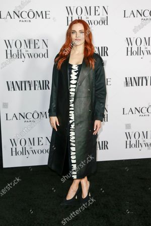 Madeline Brewer attends the Vanity Fair and Lancome Women In Hollywood Celebration at the Soho House in Hollywood, California, USA, 06 February 2020.