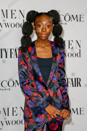 Shahadi Wright Joseph attends the Vanity Fair and Lancome Women In Hollywood Celebration at the Soho House in Hollywood, California, USA, 06 February 2020.