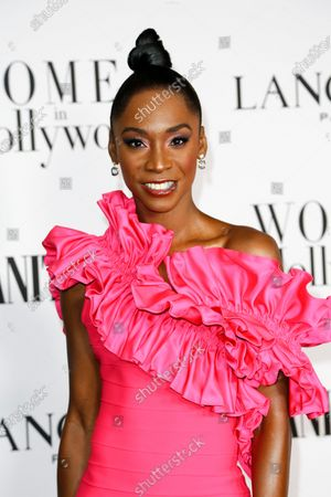 Angelica Ross attends the Vanity Fair and Lancome Women In Hollywood Celebration at the Soho House in Hollywood, California, USA, 06 February 2020.