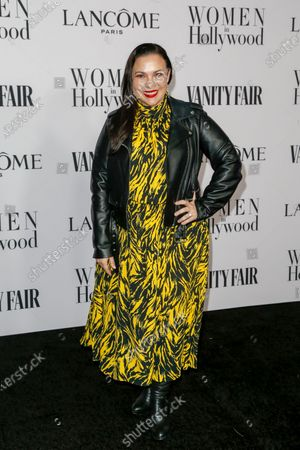 Gloria Calderon Kellett attends the Vanity Fair and Lancome Women In Hollywood Celebration at the Soho House in Hollywood, California, USA, 06 February 2020.