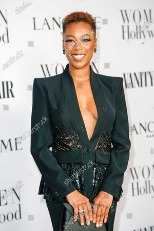 Stock Photo of Samira Wiley attends the Vanity Fair and Lancome Women In Hollywood Celebration at the Soho House in Hollywood, California, USA, 06 February 2020.