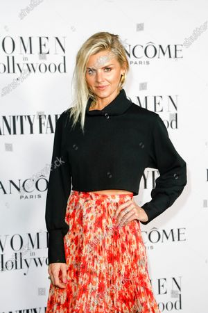 Eliza Coupe attends the Vanity Fair and Lancome Women In Hollywood Celebration at the Soho House in Hollywood, California, USA, 06 February 2020.