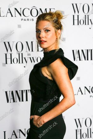 Katheryn Winnick attends the Vanity Fair and Lancome Women In Hollywood Celebration at the Soho House in Hollywood, California, USA, 06 February 2020.