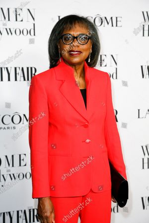 Dr. Anita Hill attends the Vanity Fair and Lancome Women In Hollywood Celebration at the Soho House in Hollywood, California, USA, 06 February 2020.