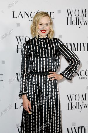Alison Pill attends the Vanity Fair and Lancome Women In Hollywood Celebration at the Soho House in Hollywood, California, USA, 06 February 2020.