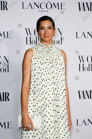 Radhika Jones attends the Vanity Fair and Lancome Women In Hollywood Celebration at the Soho House in Hollywood, California, USA, 06 February 2020.