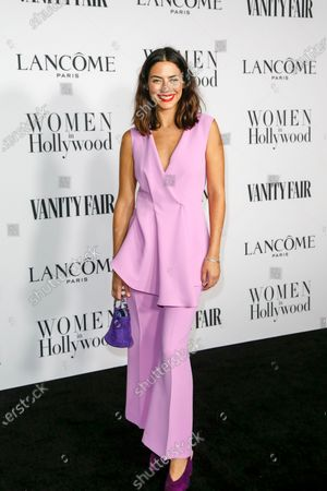 Stock Picture of Lorenza Izzo attends the Vanity Fair and Lancome Women In Hollywood Celebration at the Soho House in Hollywood, California, USA, 06 February 2020.