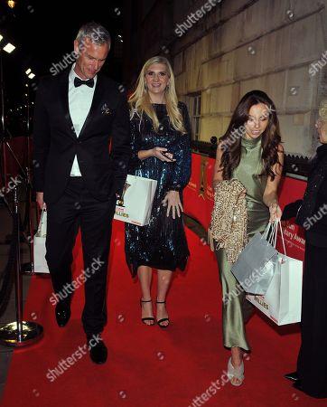 Mark Foster and Rebecca Adlington and Louisa Lytton