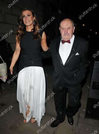 Kym Marsh and her father