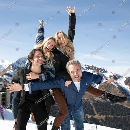 Aurore Delplace, Hubert Benhamdine, Tonya Kinzinger and Fabrice Deville