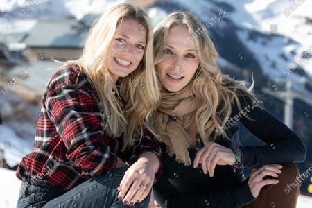 Tonya Kinzinger and Aurore Delplace