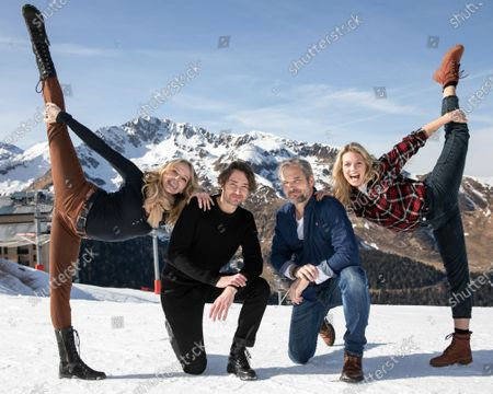Editorial picture of Luchon Television Creations Festival, France - 07 Feb 2020
