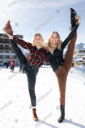 Tonya Kinzinger and Aurore Delplace.