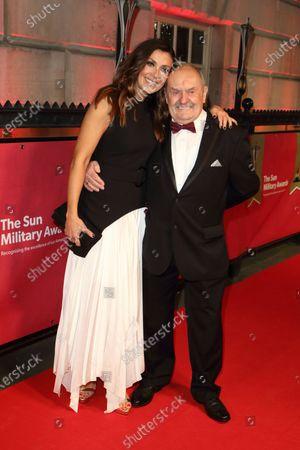 Kym Marsh and her father David Marsh