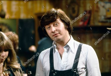 Helen Worth (as Gail Potter) and Neville Buswell (as Ray Langton)