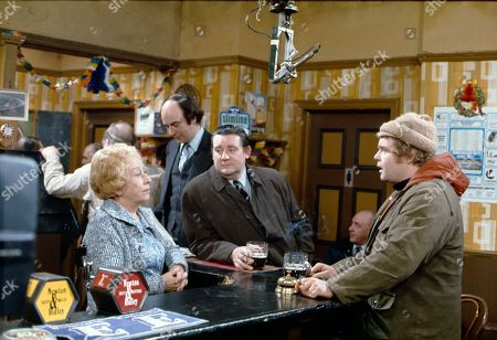Editorial photo of 'Coronation Street' TV Show - 1976