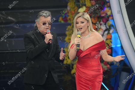 Bobby Solo, Albanian tv conducer Alketa Vejsiu