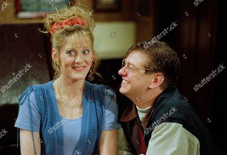 Editorial photo of 'Coronation Street' TV Show Uk  - Apr 1993