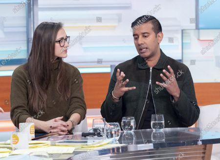 Dilly Hussain and Nihal Arthanayake