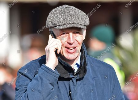 Stock Image of David Pipe, trainer.