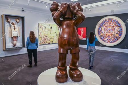 Kaws, At this Time, 2013, est £0.7-0.9m