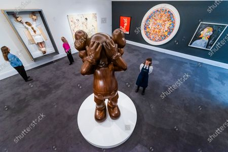 Editorial photo of Sotheby's Contemporary Art Auctions sale, London, UK - 07 Feb 2020