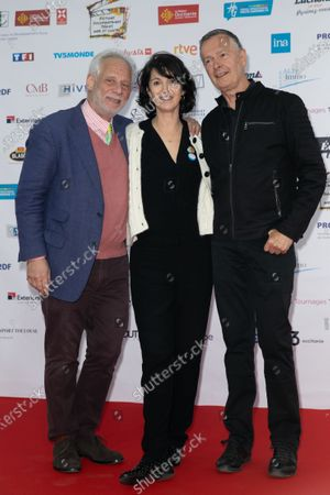 Zabou Breitman and Christian Faure realisateur