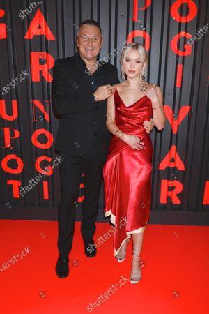 Jean-Christophe Babin and Zara Larsson