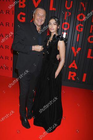 Jean-Christophe Babin and Naomi Scott