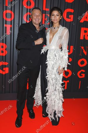 Jean-Christophe Babin and Zendaya