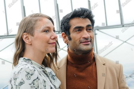 (L-R) Emily V. Gordon and Kumail Nanjiani