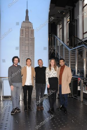 (L-R) Joshuah Bearman, Alan Yang, Lee Eisenberg, Emily V. Gordon and Kumail Nanjiani