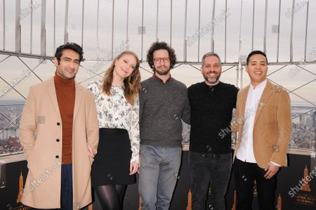 Stock Picture of (L-R) Kumail Nanjiani, Emily V. Gordon, Joshuah Bearman, Lee Eisenberg and Alan Yang