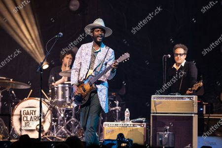 Stock Image of Gary Clark Jr. performs onstage during the Voices for Justice fundraising event for Proclaim Justice, Inc. at ACL Live at The Moody Theatre