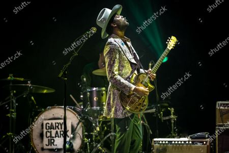 Stock Photo of Gary Clark Jr. performs onstage during the Voices for Justice fundraising event for Proclaim Justice, Inc. at ACL Live at The Moody Theatre