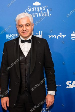 Artistic Director of the Semper Opera Ball Hans-Joachim Frey poses for the media prior the SemperOpernball 2020 in the Semperoper opera house in Dresden, Germany, 07 February 2020. The Semper Opera Ball takes place for the 15th time. The annual event is held under the motto 'Rushing like a fairy tale - Dresden celebrates'.