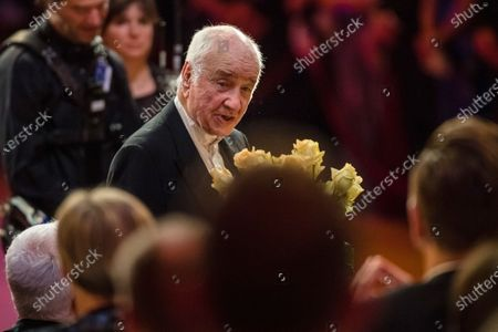 Stock Picture of Armin Mueller-Stahl attends the SemperOpernball 2020 in the Semperoper opera house in Dresden, Germany, 07 February 2020. The Semper Opera Ball takes place for the 15th time. The annual event is held under the motto 'Rushing like a fairy tale - Dresden celebrates'.