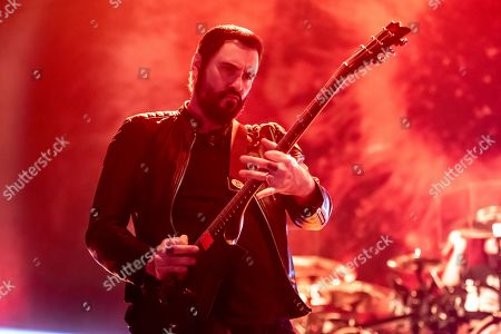 Editorial image of Korn and Breaking Benjamin in Concert - , IL, Rockford, USA - 06 Feb 2020
