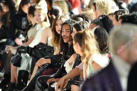 Luka Sabbat in the front row