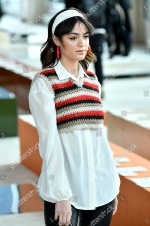 Editorial image of Longchamp show, Front Row, Fall Winter 2020, New York Fashion Week, USA - 08 Feb 2020