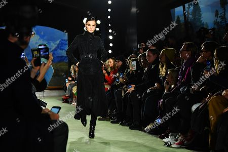 Editorial image of Brandon Maxwell show, Runway, Fall Winter 2020, New York Fashion Week, USA - 08 Feb 2020