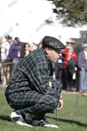 Editorial picture of AT&T Pebble Beach Pro-Am Tournament, Second Round, Monterey, USA - 07 Feb 2020