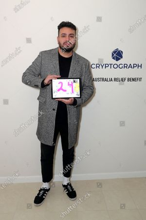 Editorial photo of Exclusive - Tommy Alastra's Annual 'Oscar Friday' Party Featuring Cryptograph To Benefit Australia Wildfire Relief, Beverly Hills, USA - 07 Feb 2020