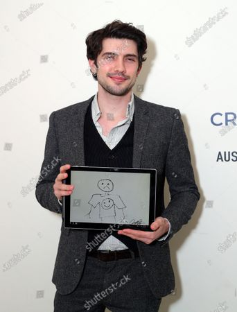 Exclusive - Carter Jenkins with a Cryptograph 'Doodle for Dollars'