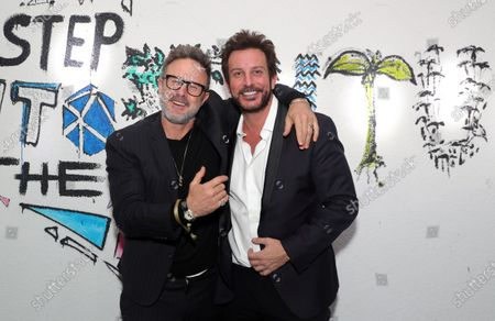 Exclusive - David Arquette and Tommy Alastra