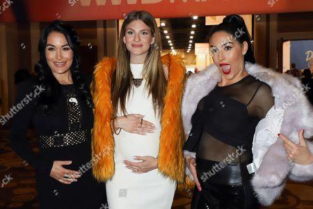 Brie Bella, Rachel McCord and Nikki Bella