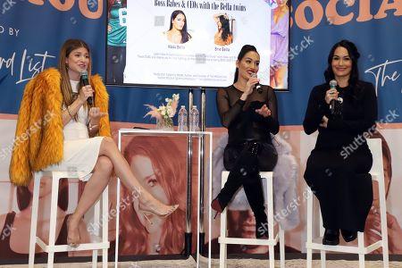 Rachel McCord, Nikki Bella and Brie Bella