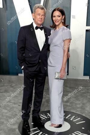 Stock Image of David Foster and Katharine McPhee