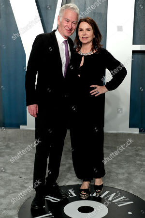 Stock Picture of John McEnroe and Patty Smyth